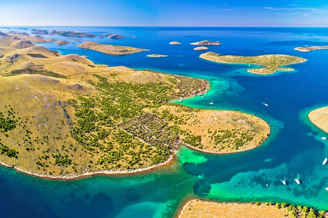 Island hop in the Kornati Archipelago