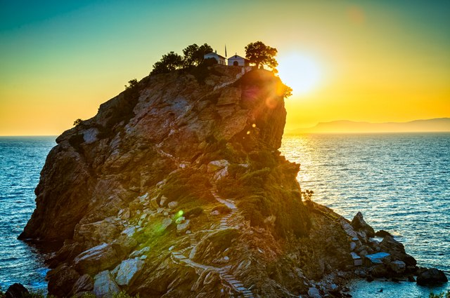 See the famous sights of Skopelos