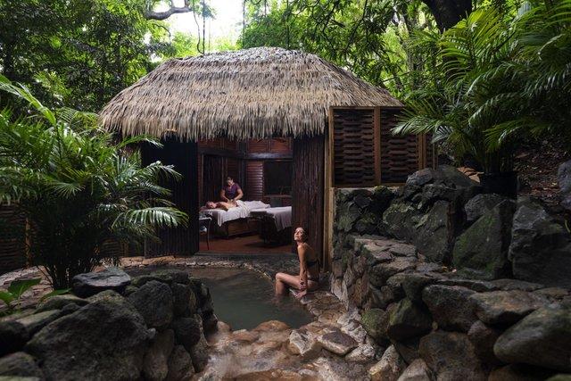 Rainforest Spa at Sugar Beach, St Lucia