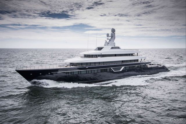 Feadship delivers brand new 87m M/Y LONIAN