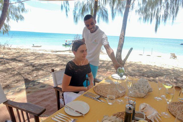 Desert Island Dining Experience