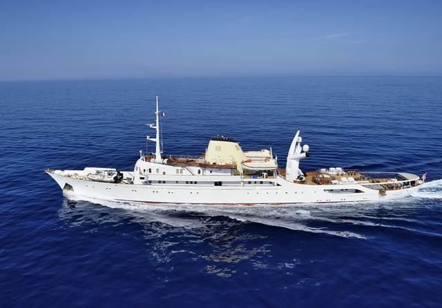 Christina O Yacht Video