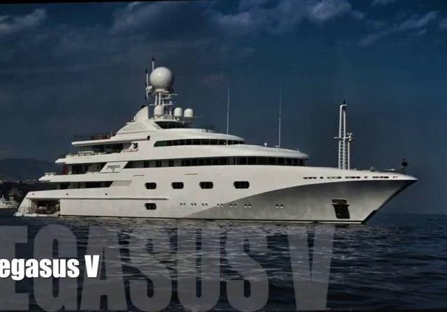 Pegasus VIII Yacht Video