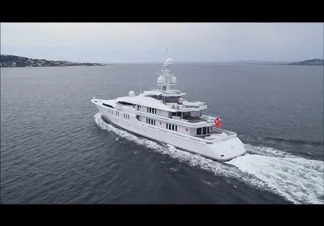 Talisman C Yacht Video