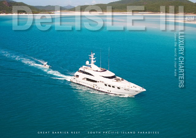 Download De Lisle III yacht brochure(PDF)