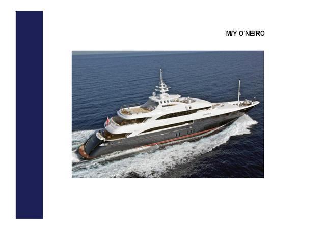 Download O'Neiro yacht brochure(PDF)