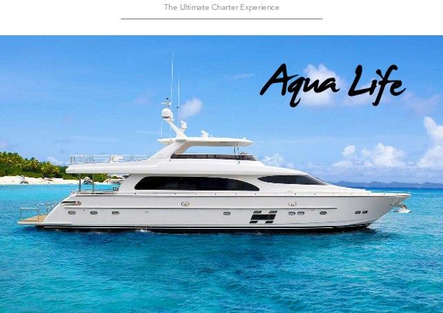 Download 'Aqua Life' yacht brochure(PDF)