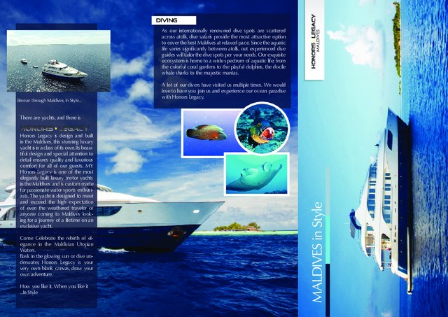 Download Honors Legacy yacht brochure(PDF)