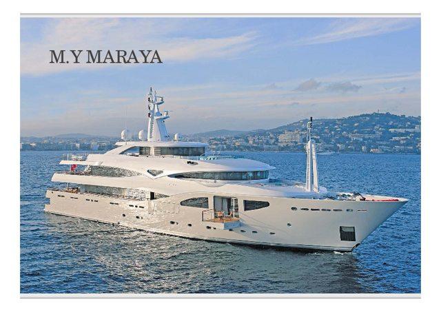 Download 'Maraya' yacht brochure(PDF)