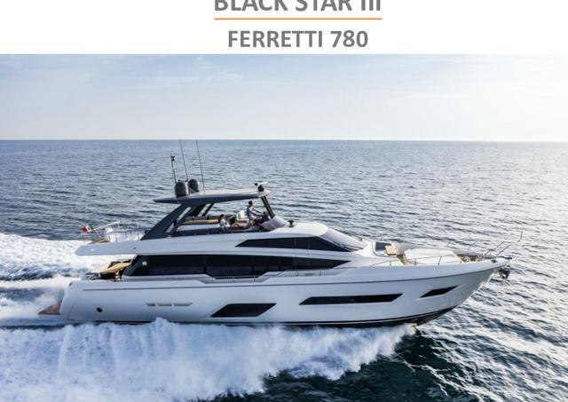 Download Black Star III yacht brochure(PDF)