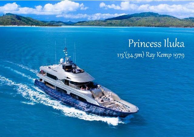 Download Princess Iluka yacht brochure(PDF)