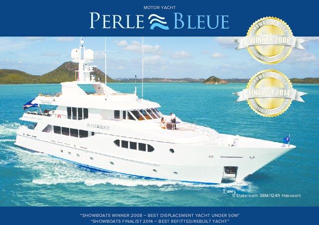 Download 'Perle Bleue' yacht brochure(PDF)