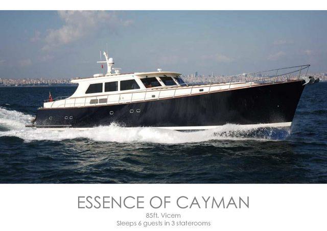 Download Essence of Cayman yacht brochure(PDF)