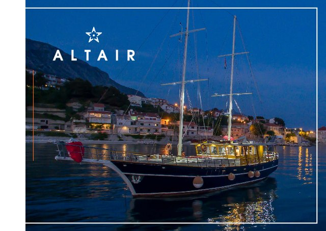 Download Altair yacht brochure(PDF)