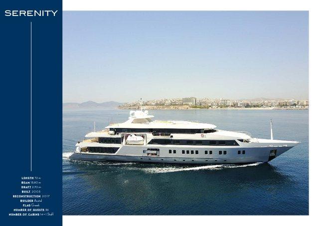 Download 'Serenity' yacht brochure(PDF)