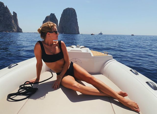 How to do your Amalfi Coast yacht charter like Rosie Huntington-Whiteley