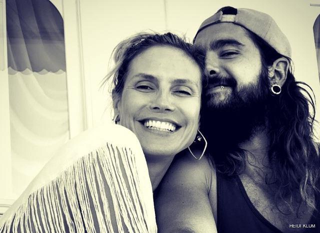 Heidi Klum shares snaps of her Capri wedding on board superyacht