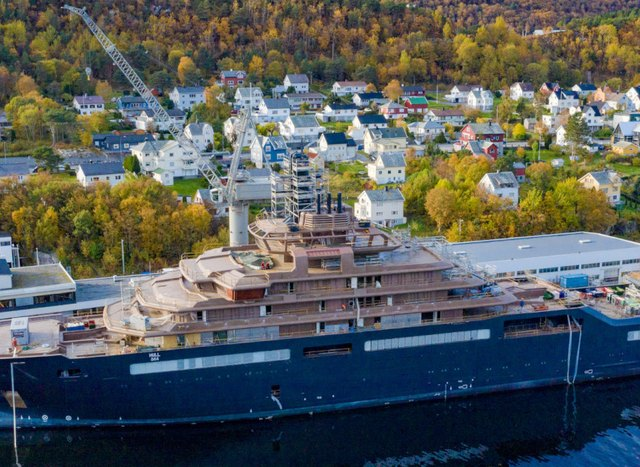 Mission for change: Owner of 183m expedition yacht REV Ocean leads by example