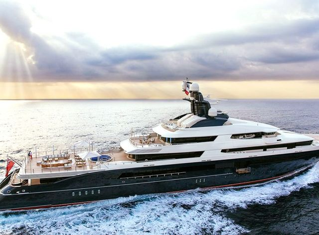 Megayacht TRANQUILITY joins the yacht charter fleet