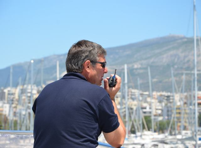 Greek Yacht Charter Captain