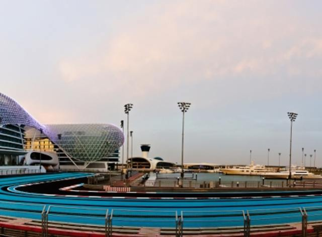 Yas Marina Gears-Up for 2014 Abu Dhabi GP