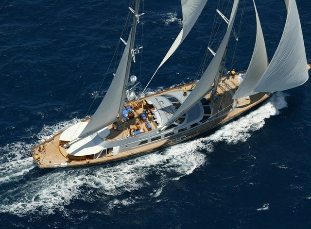 Sailing Yacht 'Andromeda la Dea' Offering Charters in Antigua
