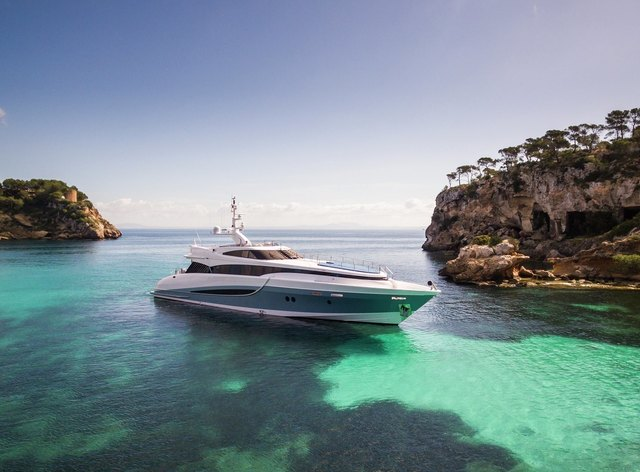 M/Y 'Benita Blue' Opens for Prime-Time Ibiza Charters
