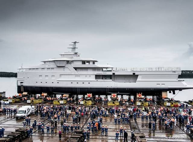 Damen launches expedition yacht 'La Datcha'