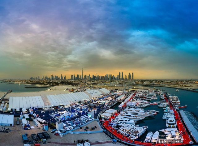 The 2019 Dubai International Boat Show opens its doors