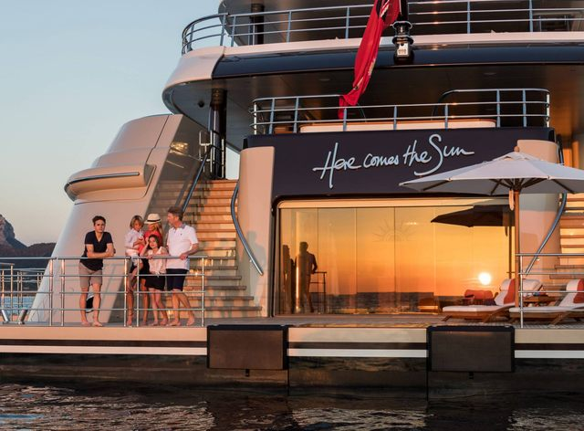 M/Y 'Here Comes the Sun' opens for Mexico yacht charters