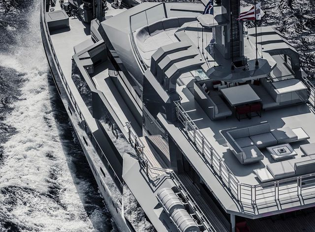 85m M/Y BOLD now open for luxury yacht charters