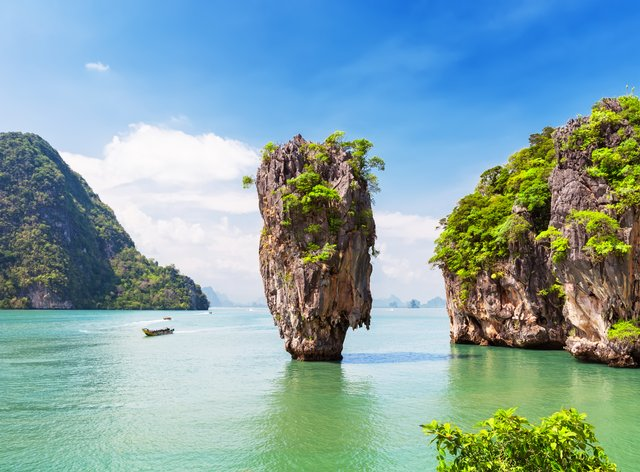 Yacht charter destination of Thailand