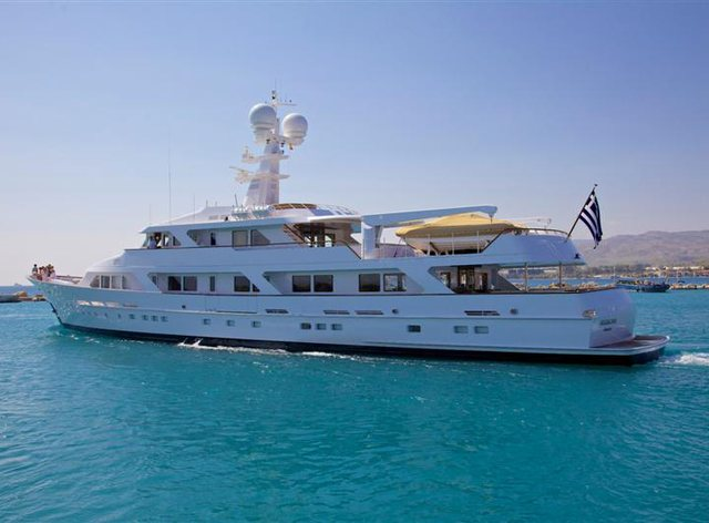 Ancallia Greek Charter Yacht after refit