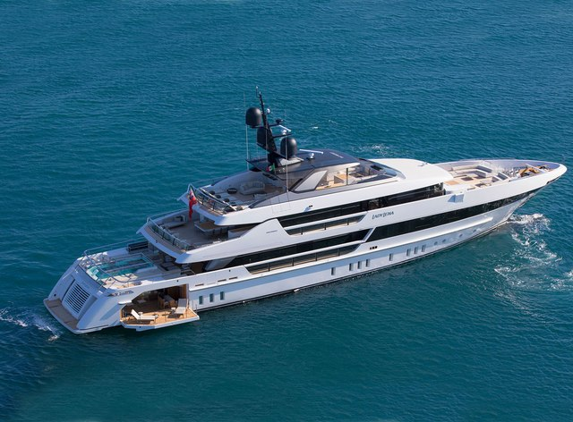 Brand new 52m 'Lady Lena' available for 2020 Mediterranean yacht charters