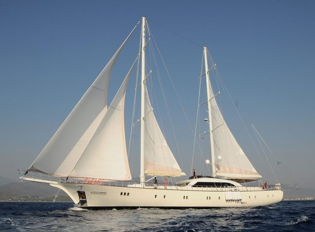 S/Y ALESSANDRO Offering Special Rates