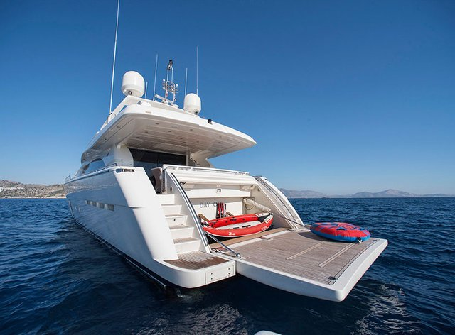 M/Y 'Day Off' Open For Charter In Mykonos