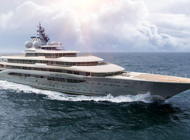 World's largest charter yacht FLYING FOX now open for bookings in the Indian Ocean