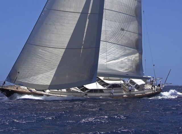 Sailing yacht MARAE cruising in the British Virgin Islands
