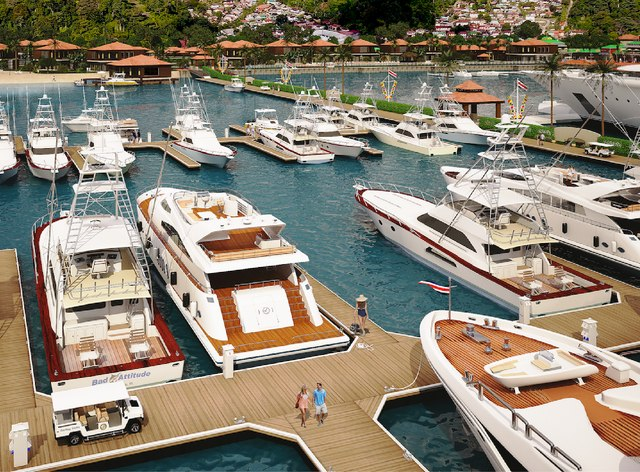 Costa Rica's Golfito Marina Opens for Business