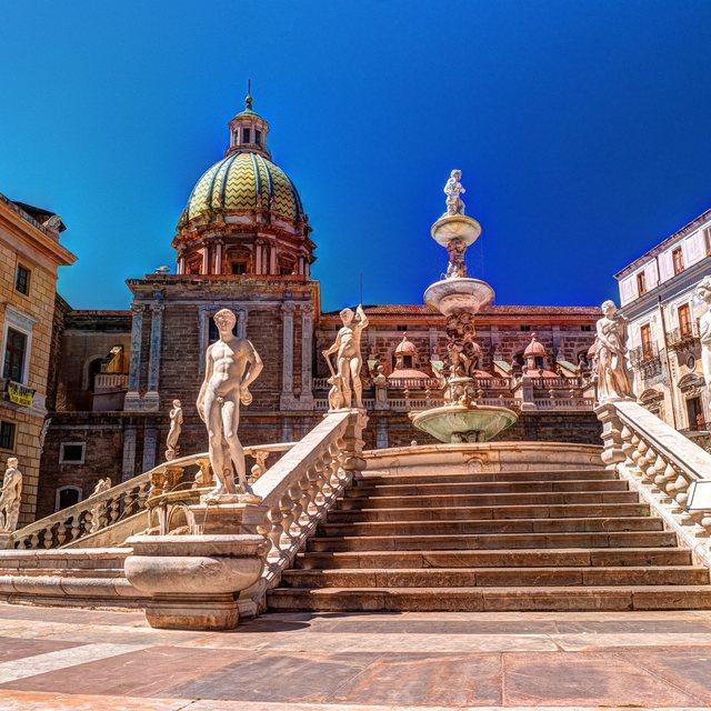 Disembark in Palermo