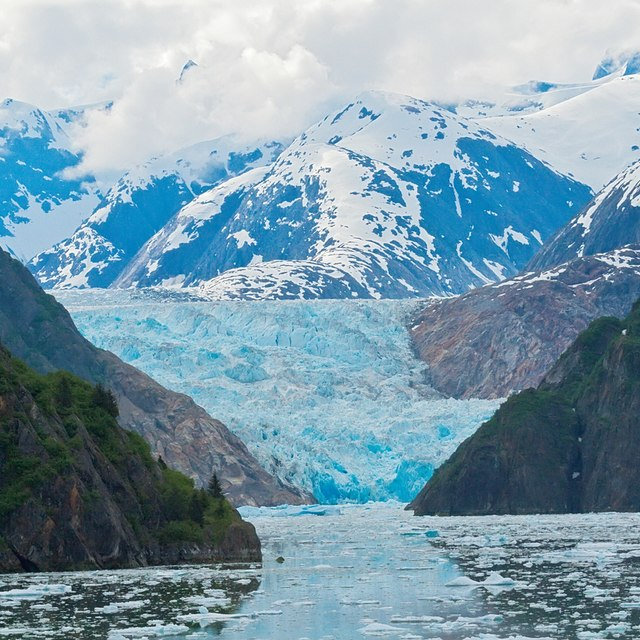 Cruise the famous Tracy Arm fjord and see glaciers