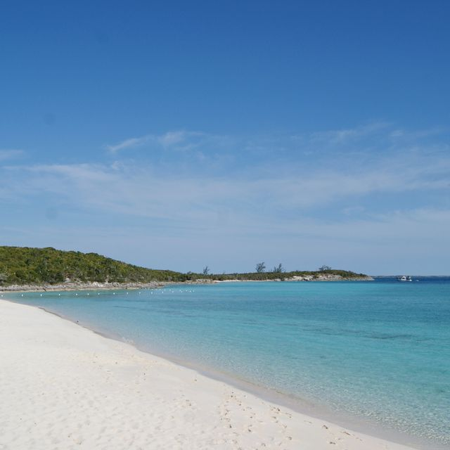Jump around from Allan to Norman to Highbourne Cay