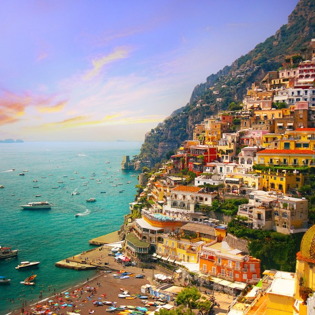 Lap the luxury of Positano