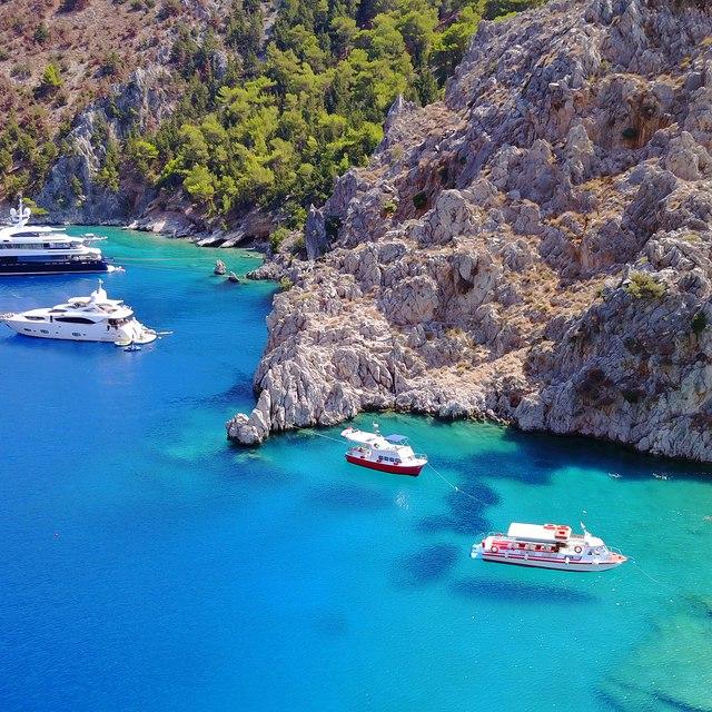 Unwind and relax in Symi