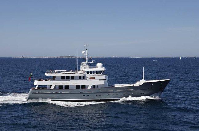 Axantha II Charter Yacht