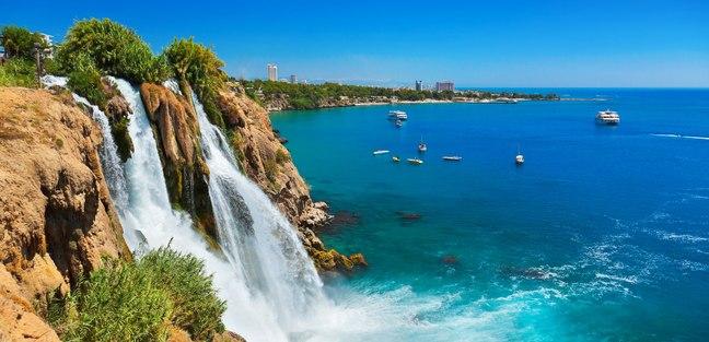 Marvel at the Breathtaking Duden Waterfalls
