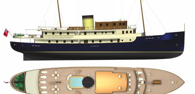 Classic 57m Charter Yacht - 3