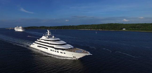 Amadea Yacht Lurssen Yacht Charter Fleet