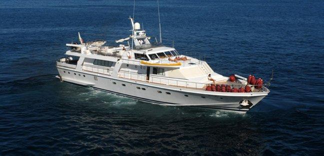 Nafisa Charter Yacht