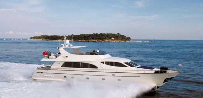 Serendipity Blue Charter Yacht